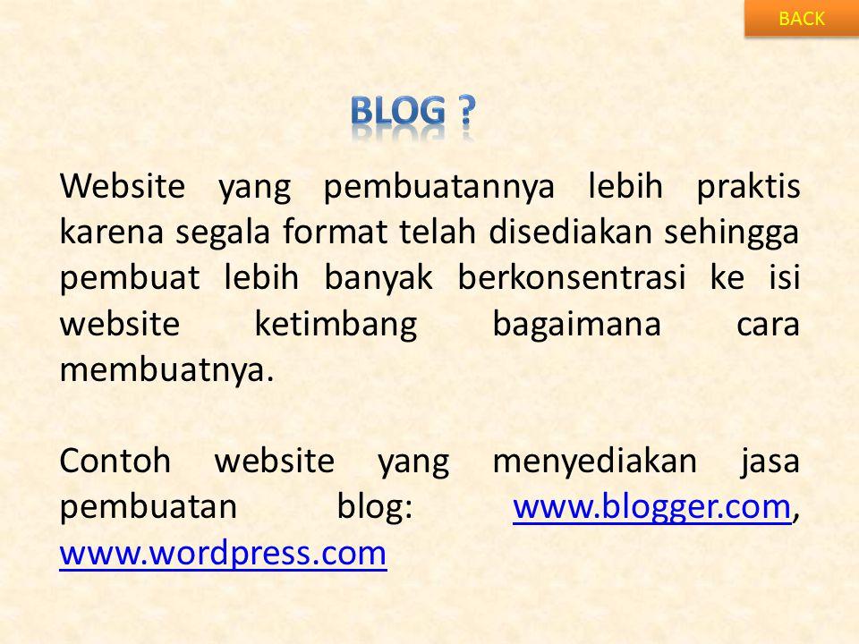 BACK Blog