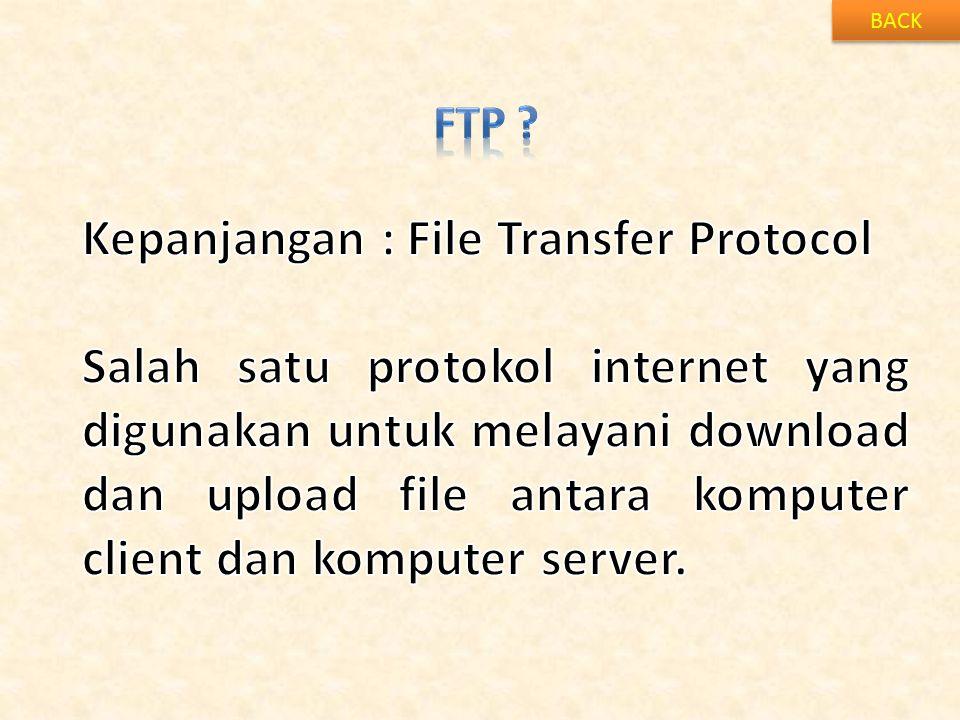 Kepanjangan : File Transfer Protocol