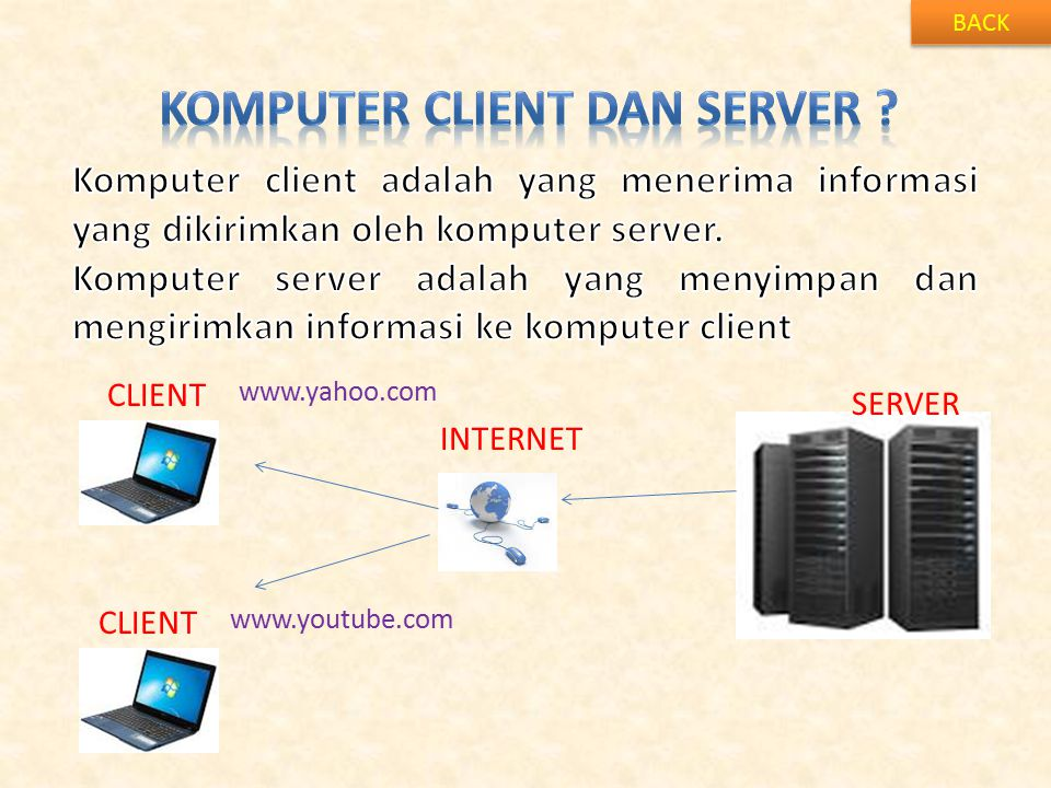 KOMPUTER CLIENT dan server