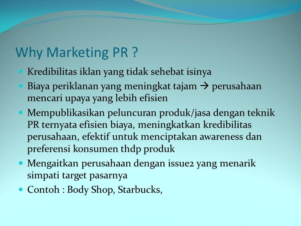 Why Marketing PR Kredibilitas iklan yang tidak sehebat isinya