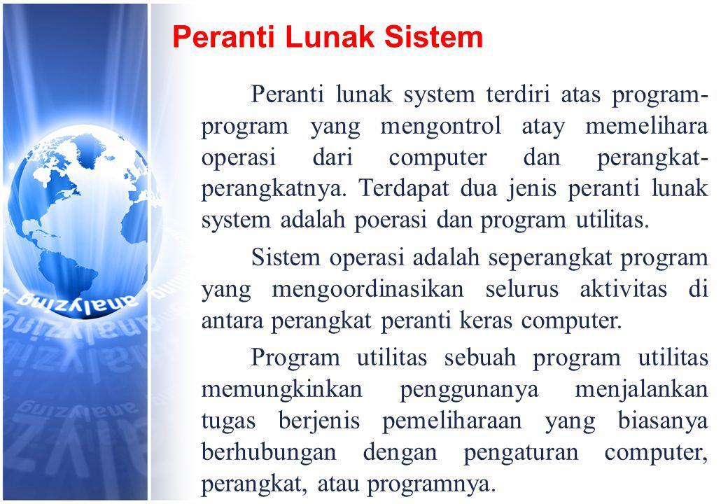 Peranti Lunak Sistem