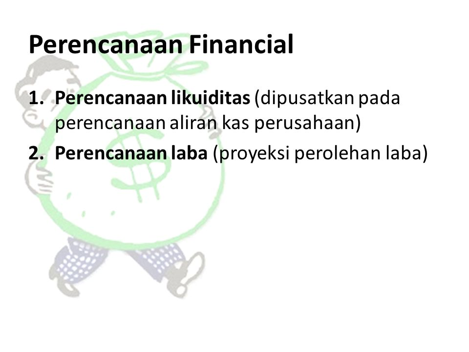 Perencanaan Financial