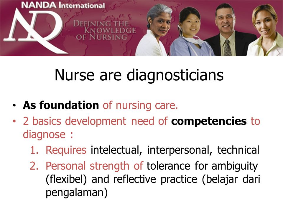 Nurse are diagnosticians