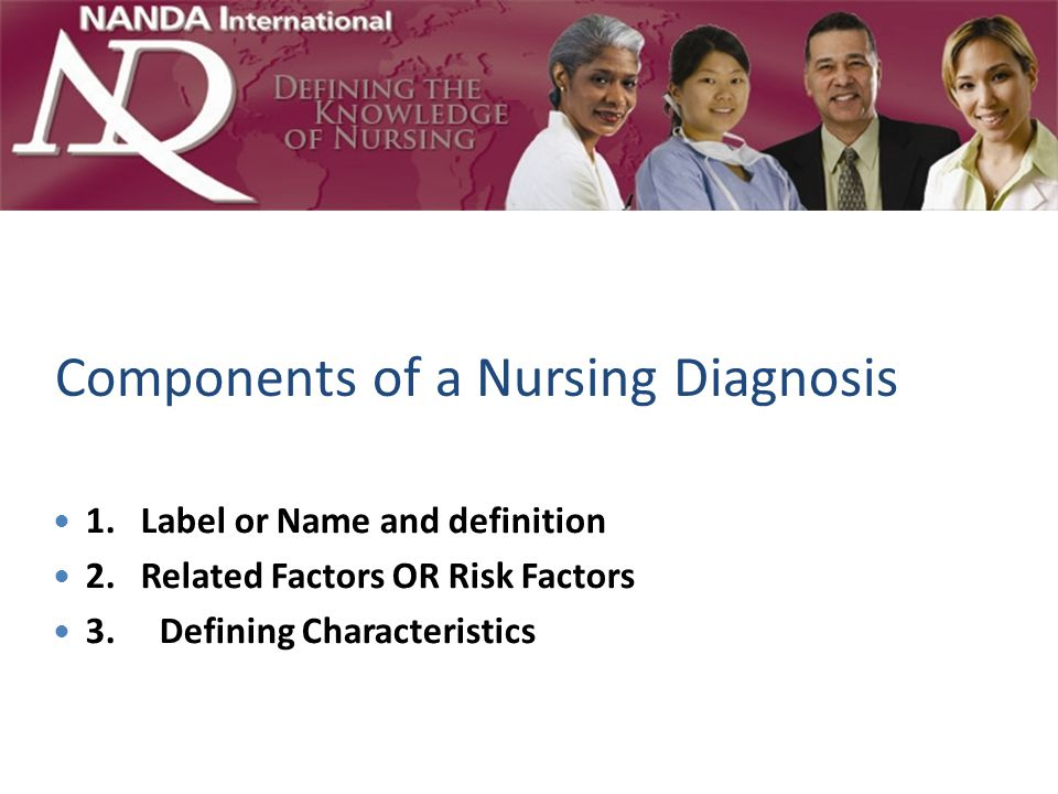 Components of a Nursing Diagnosis