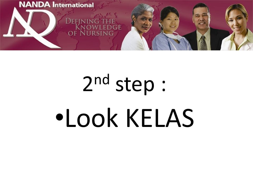 2nd step : Look KELAS