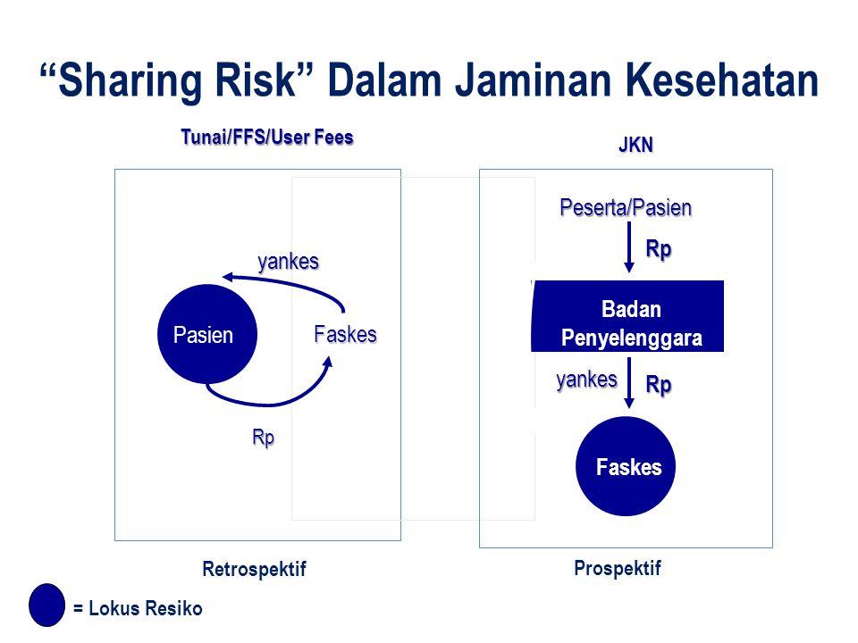 Sharing Risk Dalam Jaminan Kesehatan