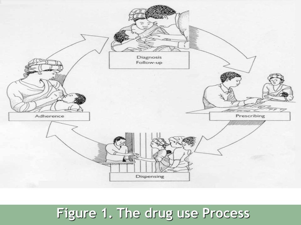 Figure 1. The drug use Process