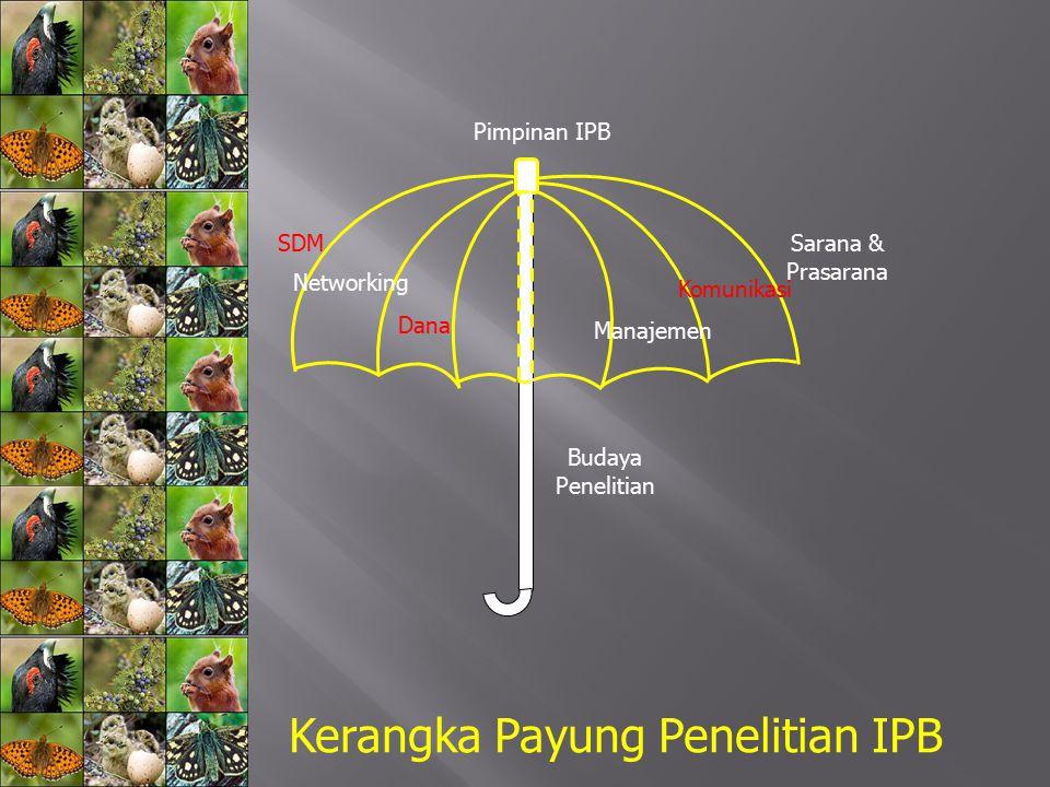 Kerangka Payung Penelitian IPB