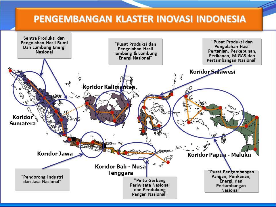 PENGEMBANGAN KLASTER INOVASI INDONESIA