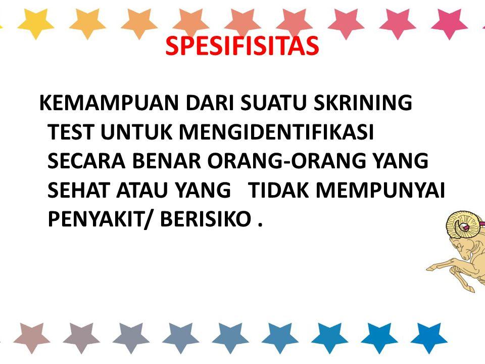 SPESIFISITAS