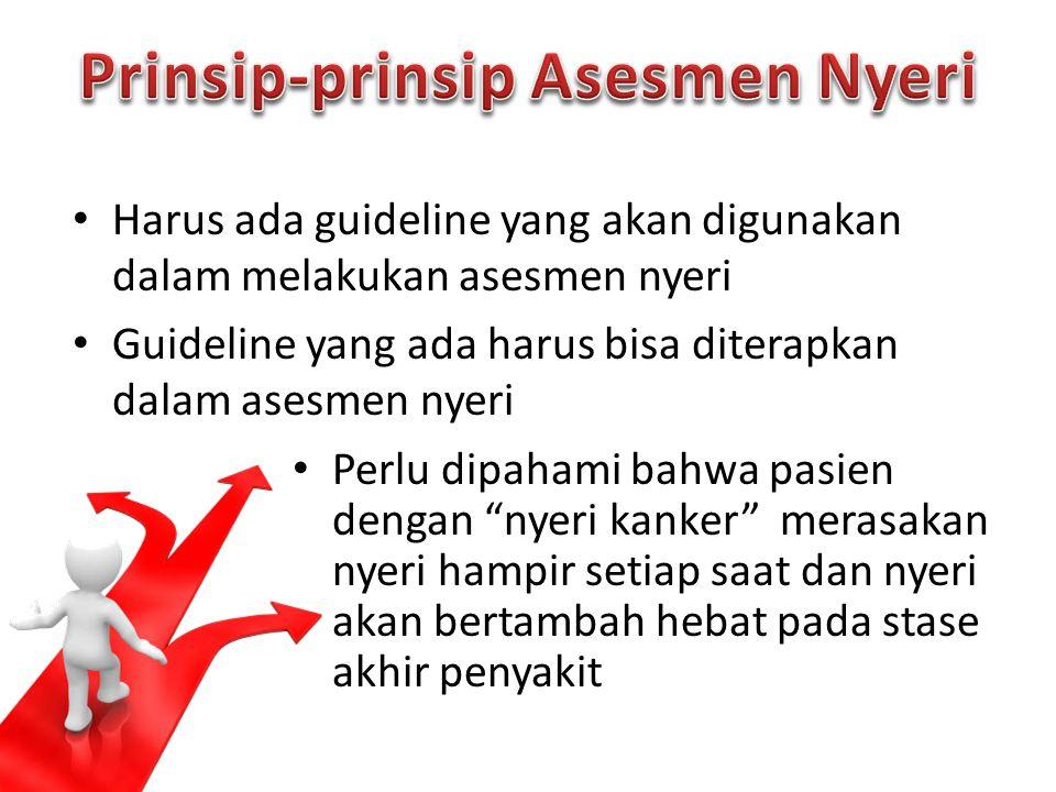 Prinsip-prinsip Asesmen Nyeri