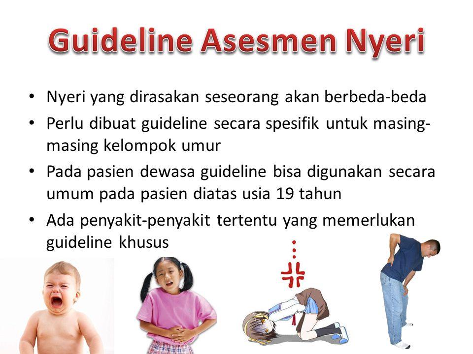 Guideline Asesmen Nyeri