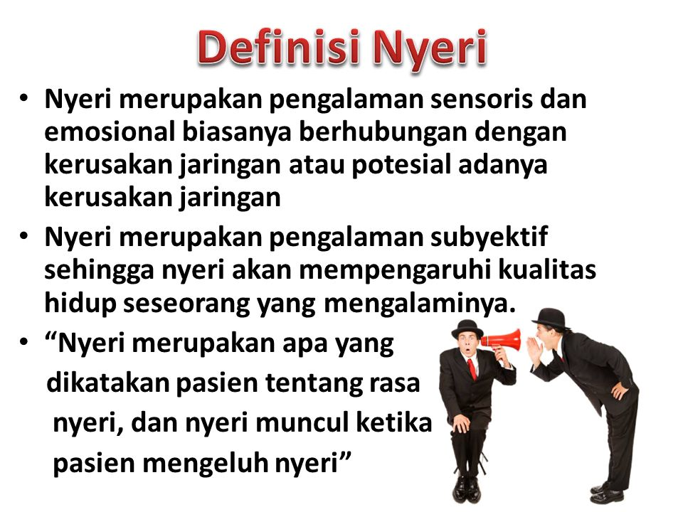 Definisi Nyeri