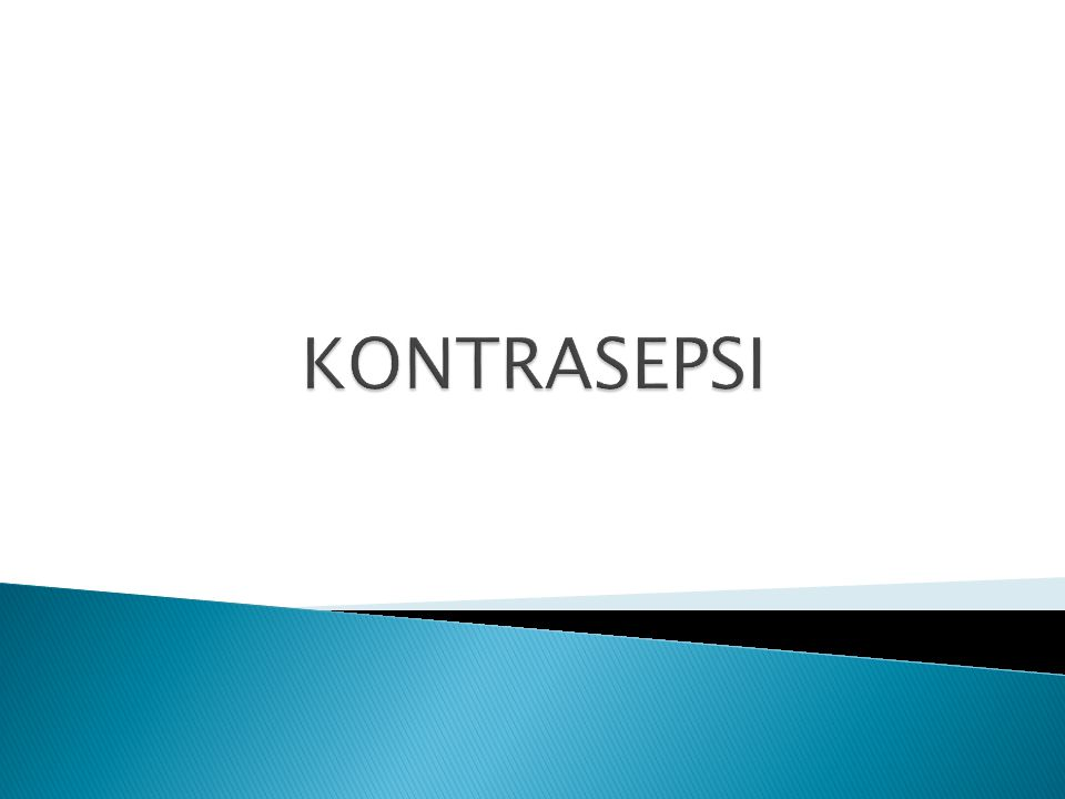 KONTRASEPSI