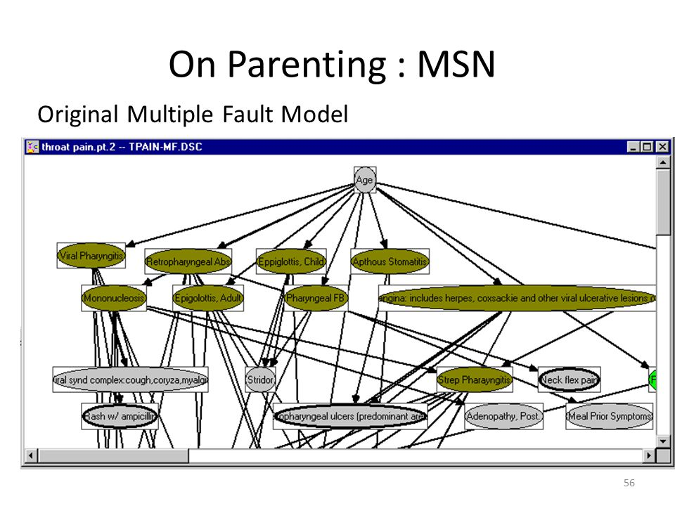 On Parenting : MSN Original Multiple Fault Model