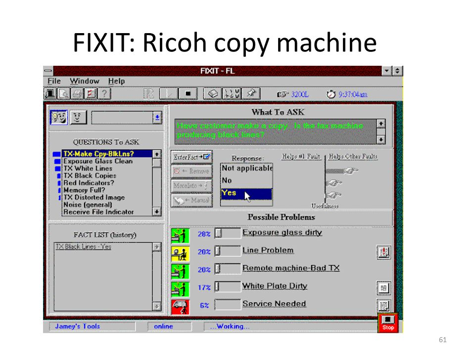 FIXIT: Ricoh copy machine