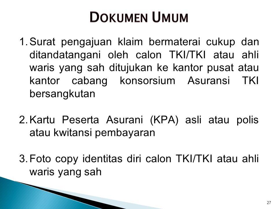 Dokumen Umum