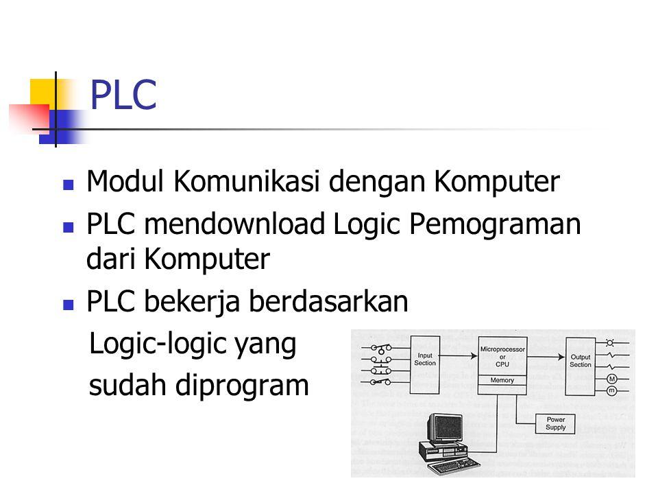 PLC Modul Komunikasi dengan Komputer