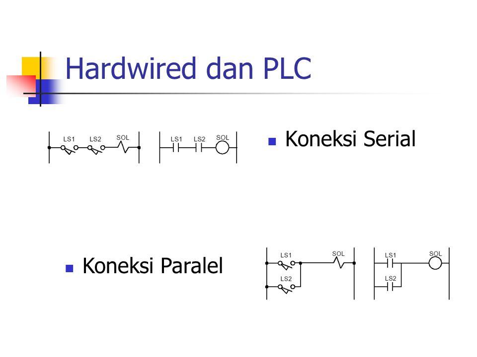 Hardwired dan PLC Koneksi Serial Koneksi Paralel