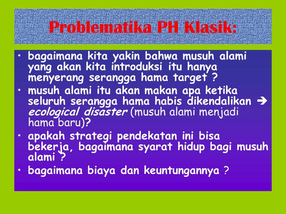 Problematika PH Klasik: