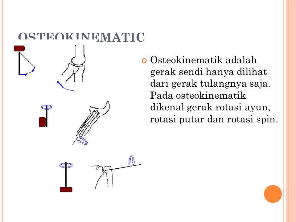 OSTEOKINEMATIC