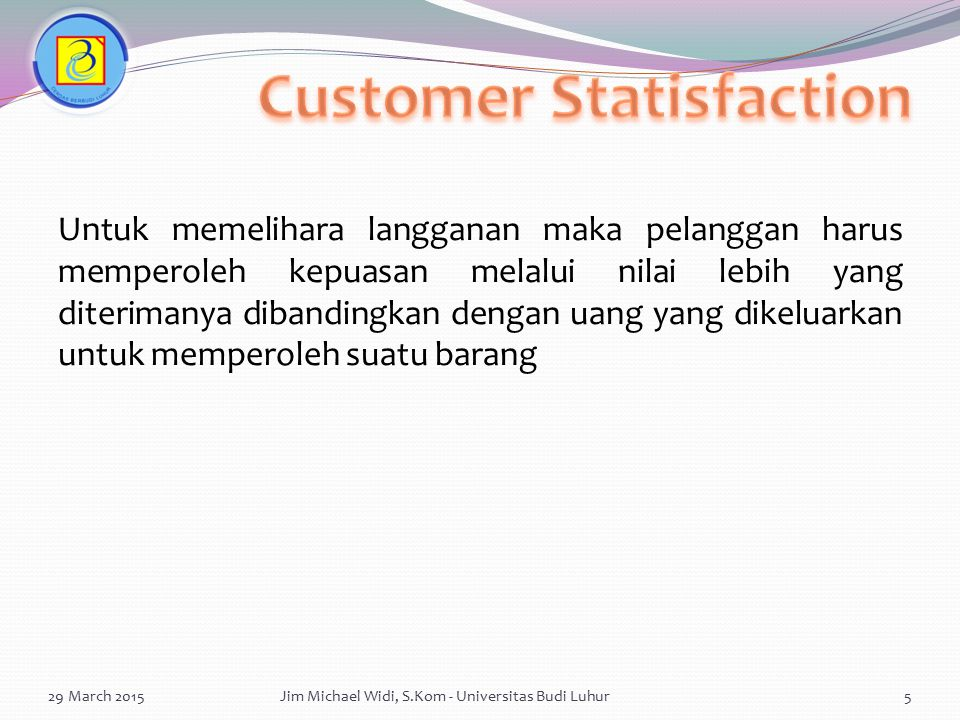 Customer Statisfaction