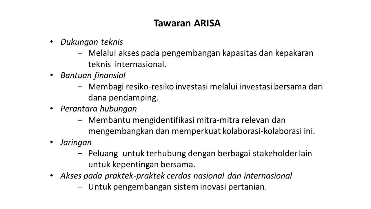 Tawaran ARISA Dukungan teknis