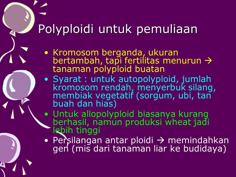 Polyploidi untuk pemuliaan