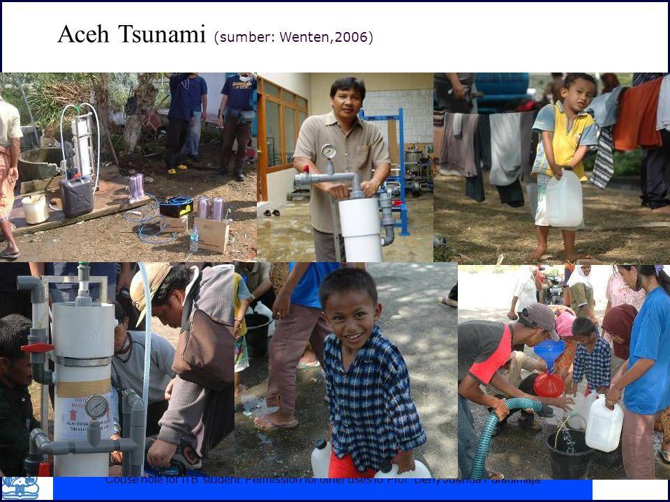 Aceh Tsunami (sumber: Wenten,2006)