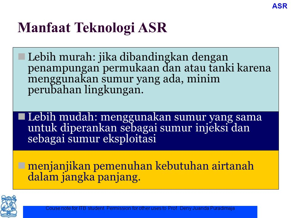 ASR Manfaat Teknologi ASR.