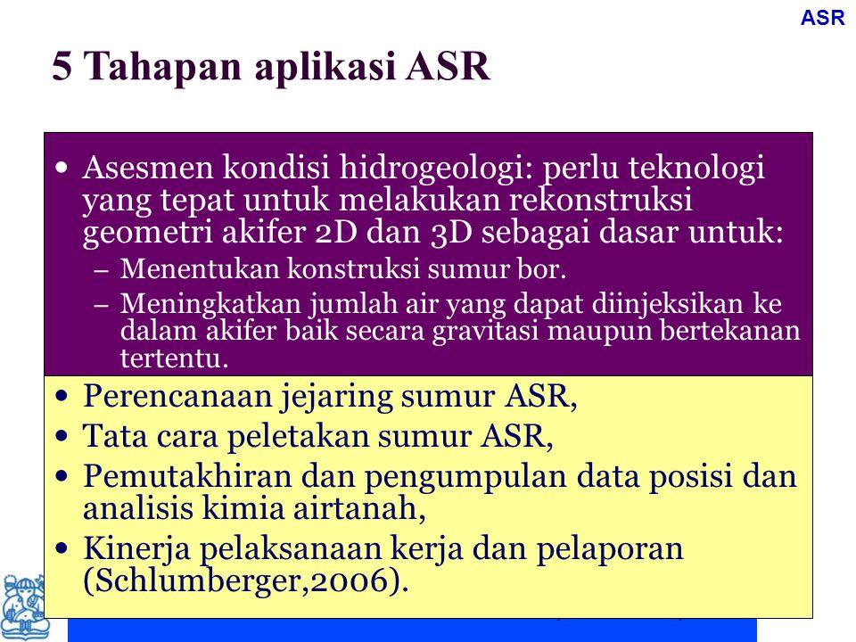 ASR 5 Tahapan aplikasi ASR.