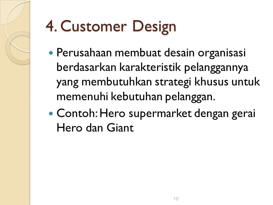 4. Customer Design