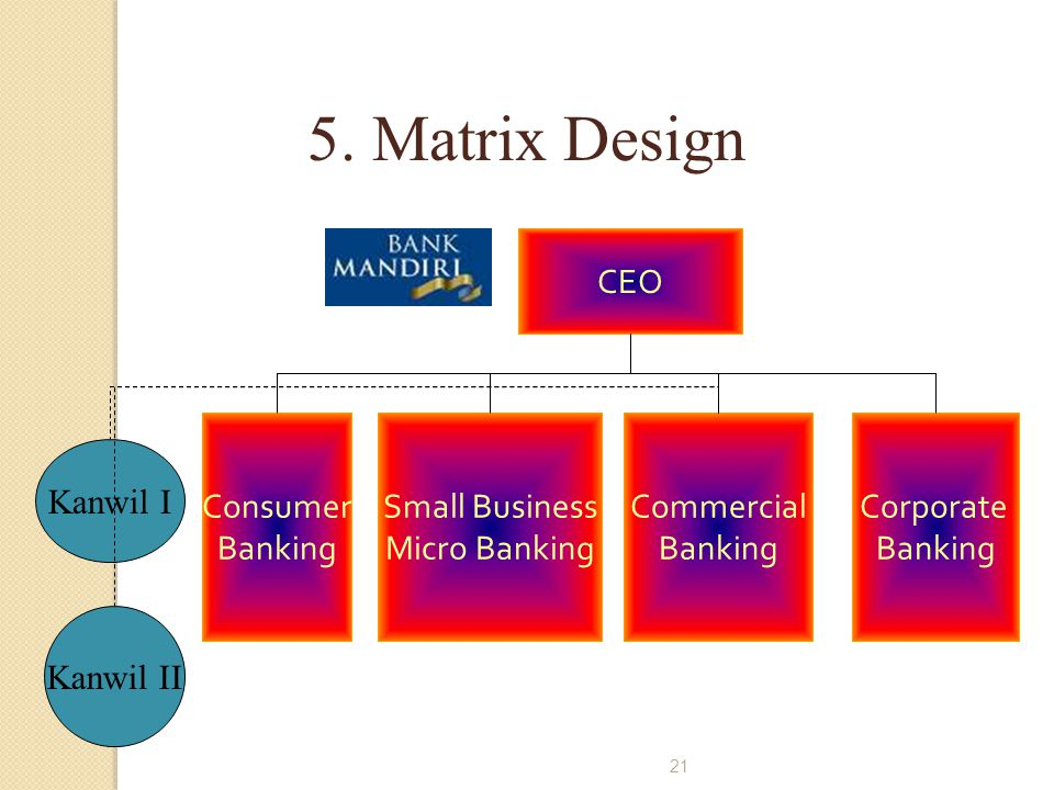 5. Matrix Design CEO Consumer Banking Small Business Micro Banking