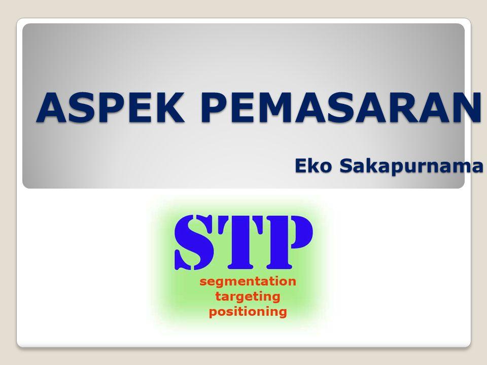 ASPEK PEMASARAN Eko Sakapurnama