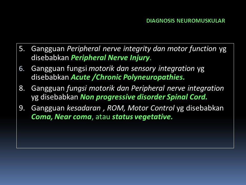 DIAGNOSIS NEUROMUSKULAR
