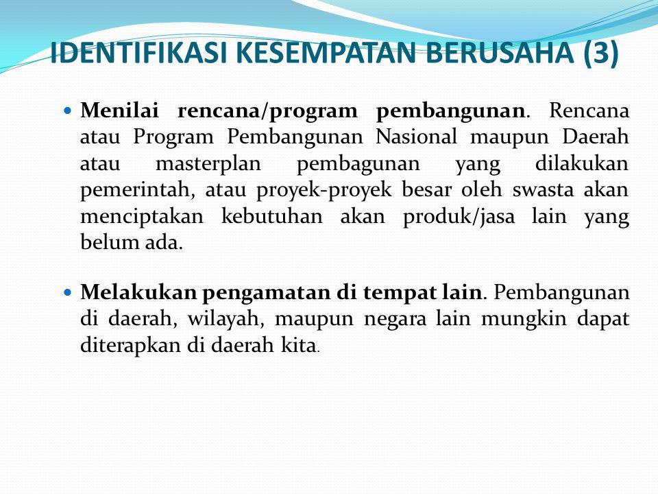 IDENTIFIKASI KESEMPATAN BERUSAHA (3)