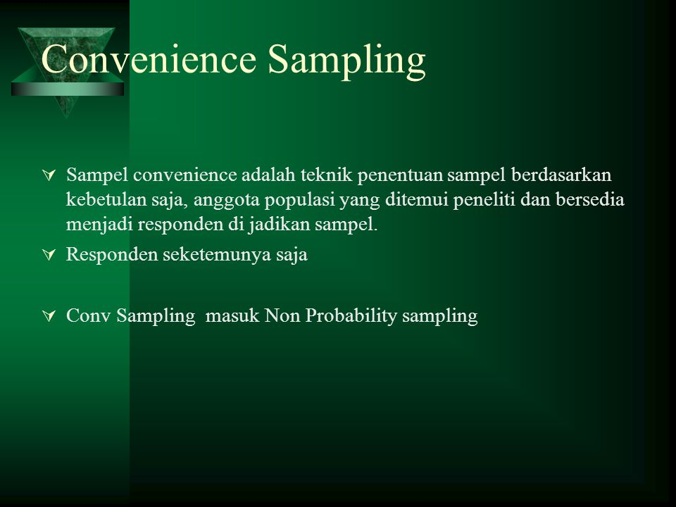 convenience sampling skit