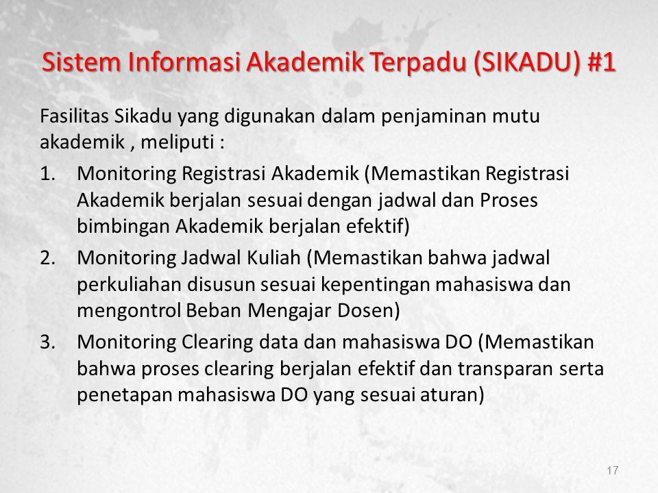 Sistem Informasi Akademik Terpadu (SIKADU) #1