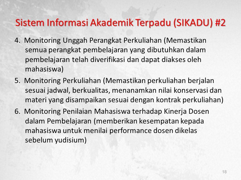 Sistem Informasi Akademik Terpadu (SIKADU) #2