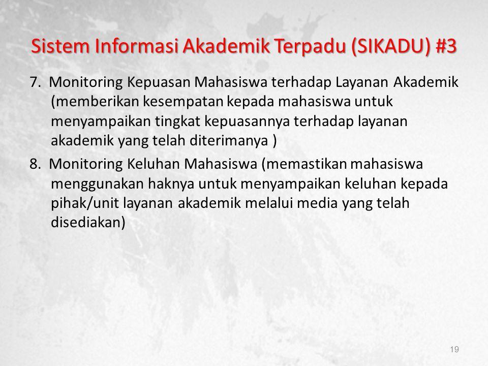 Sistem Informasi Akademik Terpadu (SIKADU) #3