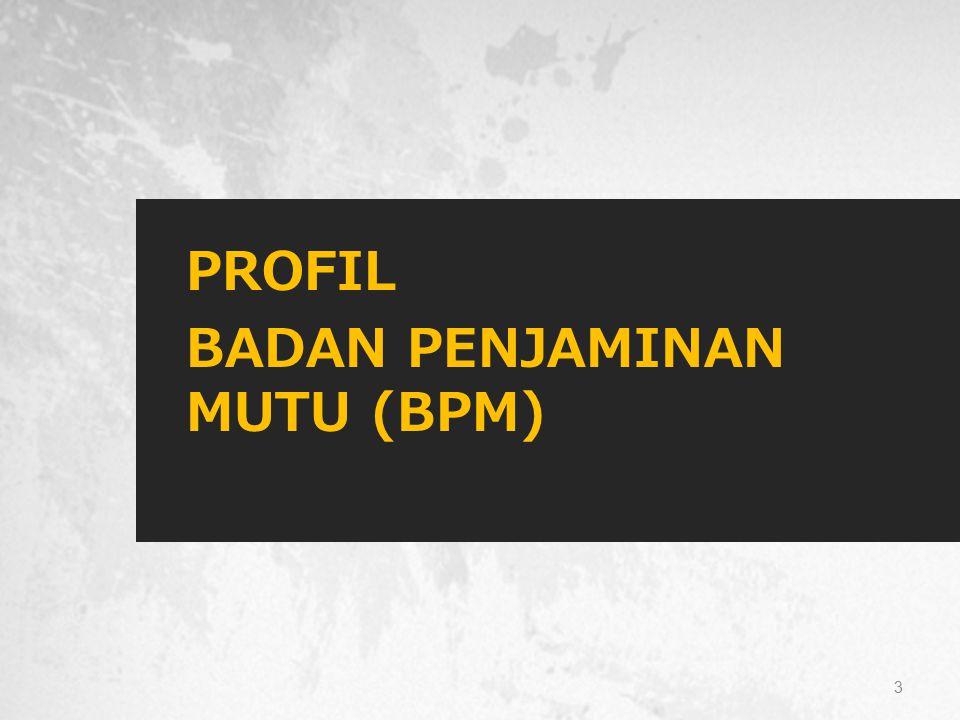 PROFIL BADAN PENJAMINAN MUTU (BPM)