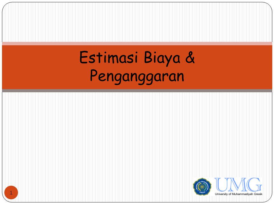 Estimasi Biaya & Penganggaran