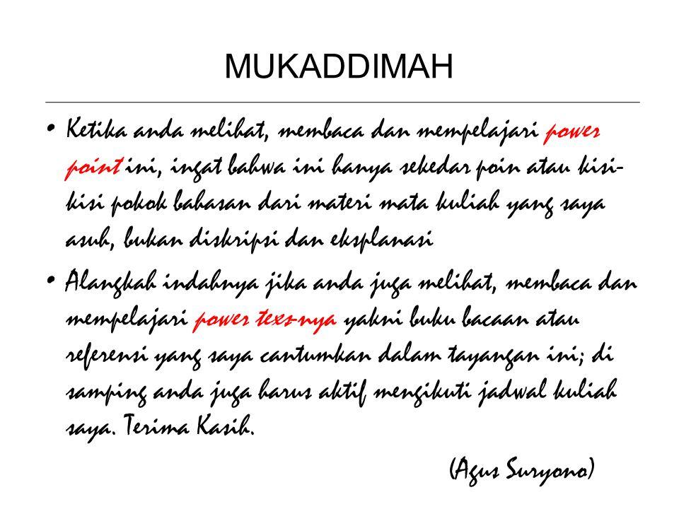 MUKADDIMAH