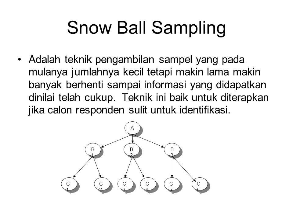 Snow Ball Sampling