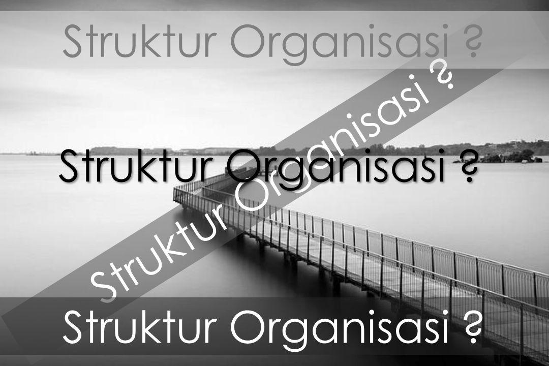 Struktur Organisasi Struktur Organisasi Struktur Organisasi Struktur Organisasi