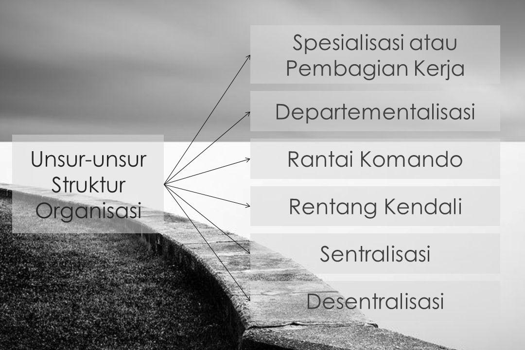 Spesialisasi atau Pembagian Kerja