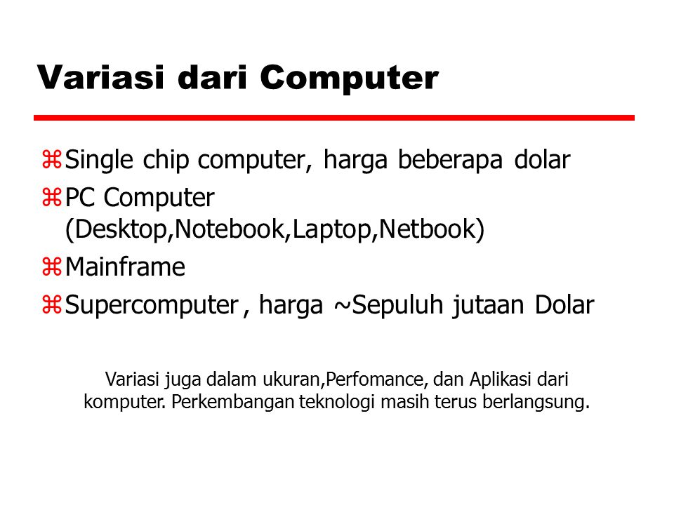 Variasi dari Computer Single chip computer, harga beberapa dolar