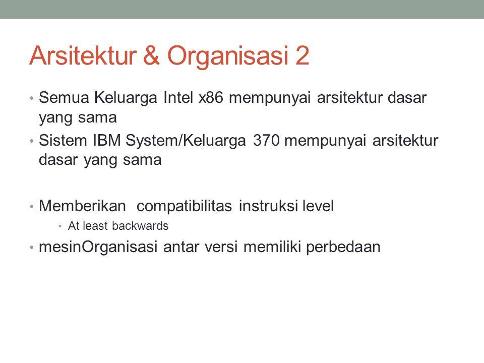 Arsitektur & Organisasi 2
