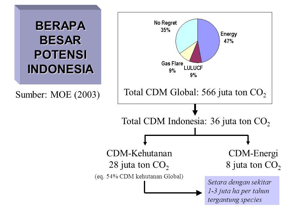 BERAPA BESAR POTENSI INDONESIA