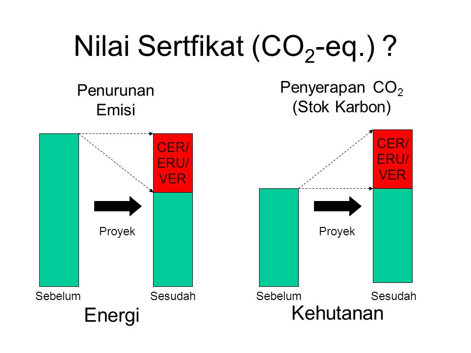 Nilai Sertfikat (CO2-eq.)